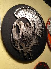 Metal Trukey art, Turkey designs, NWTF